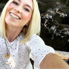 68 Likes, 9 Comments - Anika Braces Girls, Cute Braces, Perfect Teeth, Find Friends, Headgear, Beautiful Women, Faces, Woman, Orthodontics