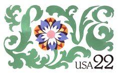 Love    Postage stamp design  Technique: Tempera on Saunders paper   Client: United States Postal Service