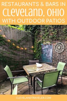 There is nothing like sitting on a patio with a refreshing beverage during a hot summer day in Cleveland. Here are some of the best bars and restaurants with outdoor seating! #cleveland #ohio Cleveland Restaurants, Restaurants Outdoor Seating, Cleveland Ohio, Cleveland Rocks, Real Estate Memes, Outdoor Furniture Sets, Outdoor Decor, Patio Dining, Cool Bars