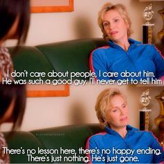 """Sue's compassion is there; she just doesn't always show it (""""The Quarterback"""")"""