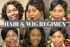 Sometimes people can be real shady toward those who wear wigs but little do they know, wigs are a great way to grow long and healthy hair if worn correctly. Here's how to wear wigs properly... #naturalhair #transitioninghair #relaxedhair