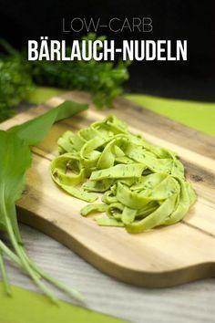 Die Bärlauch-Nudeln sind lowcarb, glutenfrei und superlecker.