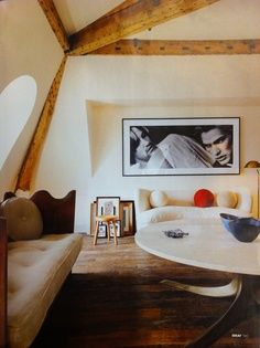 Interior architect Pierre Yovanovitch, who designed Hotel Marignan Paris