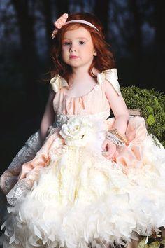 """""""Eternal Fairytale""""... A Luxurious Flower Girl Dress"""