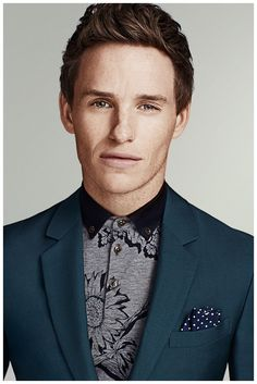 Eddie Redmayne Goes Sartorial for Mens Health March 2015 Photo Shoot
