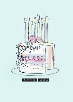 Leading Illustration & Publishing Agency based in London, New York & Marbella. Happy Birthday Wishes Cards, Happy Birthday Images, Birthday Pictures, Birthday Greetings, Happt Birthday, Birthday Quotes, Birthday Celebration, Birthday Ideas, Happy Birthday Wallpaper