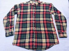 Vintage L.L Bean Freeport Maine flannel shirt by CheAmeVintage