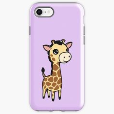 """""""Cute baby giraffe """" iPhone Case & Cover by jakezbontar 
