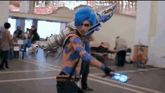 jinx league of legends cosplay - Google Search
