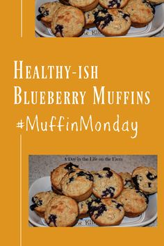 A Day in the Life on the Farm: Healthy(ish) Blueberry Muffins #MuffinMonday Recipe Generator, Blueberry Bread, Whole Wheat Flour, Blue Berry Muffins, Cops, Bread Recipes, Peace, Snacks, Baking