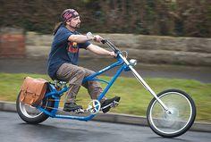 Born to be MILD From Easy Rider to eco rider ☆ Chopper Style Bicycle Custom Velo, Custom Bikes, Velo Design, Bicycle Design, Easy Rider, Mini Bike, Pimp Your Bike, Motos Vintage, Velo Retro