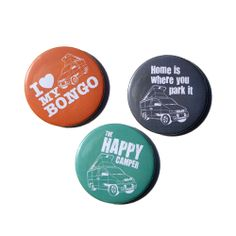 Mazda Bongo Fridge Magnets available at http://www.themagiccamper.co.uk/