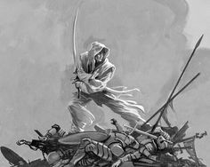 The White Assassin | Seth | Words of Radiance | by Michael Whelan | The Stormlight Archives | Brandon Sanderson