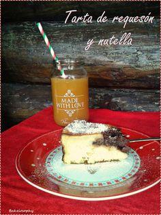 Ricotta and Nutella cake - Tarta de requesón y nutella