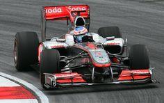 Vodafone McLaren Mercedes                                No.1 Jenson BUTTON                                             McLaren MP4-25                                         Mercedes-Bzns FO108X NA2.4L V8 Bridgestone
