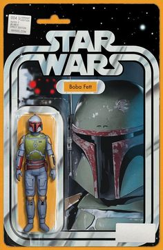 STAR WARS #4 John Tyler Christopher BOBA FETT Action Figure Variant Cover. Available to buy at our online store www.7ate9comics.com