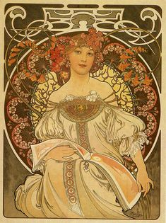 Alice's little box: Alfons Maria Mucha