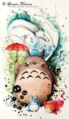 ghibli fantasy art - Google Search