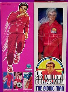 The 6 Million Dollar Man Action Figure complete with telescope eye was one of my fav possessions