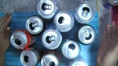 Tic para scrap reciclando latas de bebidas