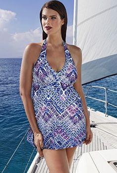 Swimdress - Tropiculture Tobago Handkerchief Swimdress