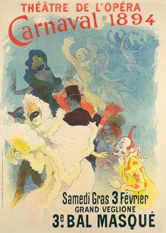 THÉÂTRE DE L'OPÉRA – CARNAVAL 1894 (1894)