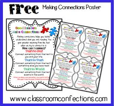 Reading - Printable File Folder Games, Other Fun Classroom Activities: FREE Reading Posters Teaching Reading, Free Reading, Teaching Ideas, Close Reading, Learning, Fun Classroom Activities, Primary Classroom, Classroom Ideas, Reading Posters
