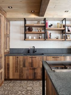 "An ""Urban Rustic"" Kitchen for a Chef 