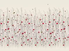 Accent Murals of Meadow - Neutral by Michael Angove (1000mm x 2400mm) | Shop | Surface View