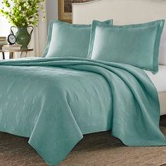 Stone Cottage Arbor Mini Quilt Set - Mineral (Twin)