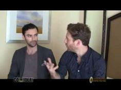 January 2014 Aidan and Dean talk about DOS ▶ Aidan Turner & Dean O'Gorman interview - YouTube