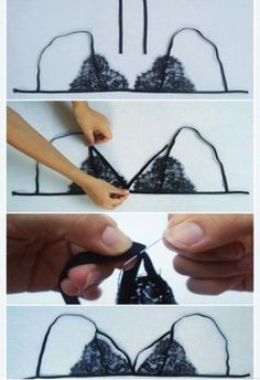 Creating DIY Fashion Trends – Designer Fashion Tips Sewing Hacks, Sewing Crafts, Diy Bralette, Sewing Lingerie, Diy Clothing, Diy Fashion, Sewing Patterns, Creations, Wedding Dress
