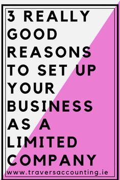From Travers Accounting Services.what is the difference between operating your business as a Sole Trader versus as a Limited Company? Here are 3 really good reasons for considering operating as a Limited Company Business Tips, Online Business, Company Financials, Chartered Accountant, Accounting Services, 5 Things, Peace Of Mind, Read More, Equation