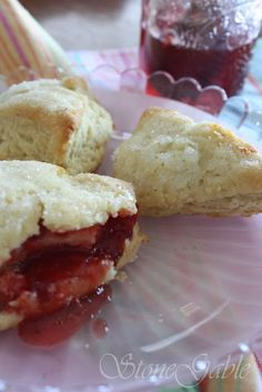 Scones, at least for me, were always a vehicle for butter and sticky, fruity jam! And not all scones are the same, either. As a young girl at a Scottish boarding school, scones became my most coveted tea time treat. They were not at all like the light, flaky, little bundles of deliciousness served today. They were …