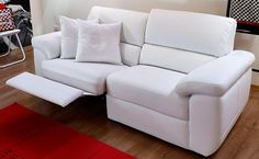 Divano 2 posti relax con meccanismo manuale Arturo : (Misano ...