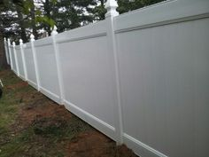 "Mr. Harris of Sicklerville  says ""I am so happy my wife and I decided to do this"" 6′ Privacy Vinyl"