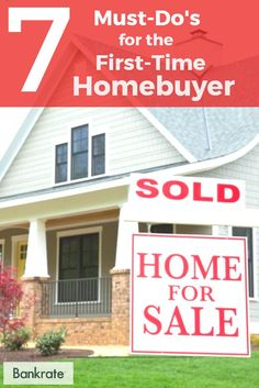 Remember these 7 tips when buying your first home!