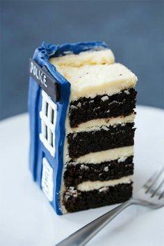 Tardis cake NEED