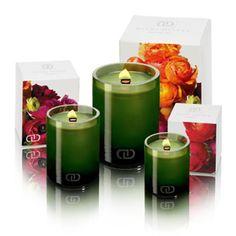 DayNa Decker Botanika Candles - Choose from nine fragrances and three sizes. Eco-wood wicks; organic.