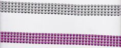 3/4 Wide Rhinestone Ribbon  Bright or Light by CountryCroppers, $1.99