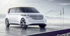 All-electric Volkswagen BUDD-e is a high-techMicrobus