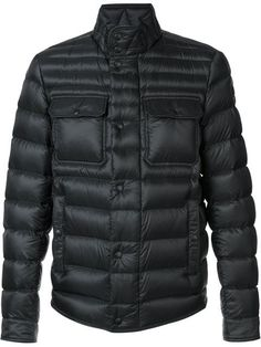 MONCLER Standing Collar Padded Jacket. #moncler #cloth #jacket