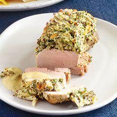Schweinefilet mit Senfkruste Rezept | Küchengötter