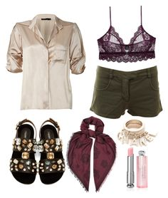 Peek-a-Boo by olivia-alpert on Polyvore featuring polyvore, fashion, style, Donna Karan, GF Ferre, Only Hearts, Dolce&Gabbana, Kenzo and Christian Dior