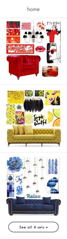 """home"" by medinaxfash ❤ liked on Polyvore featuring interior, interiors, interior design, home, home decor, interior decorating, Eichholtz, Oliver Gal Artist Co., Parvez Taj and Vitra"