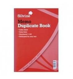 "Buy the new ""Silvine Duplicate Book Feint Ruled A4"" online today. Now in stock."