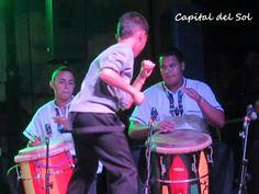 "Child dancing ""La Bomba"""