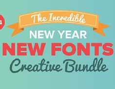 """Check out new work on my @Behance portfolio: """"The New Year New Fonts Bundle"""" http://be.net/gallery/32154717/The-New-Year-New-Fonts-Bundle"""