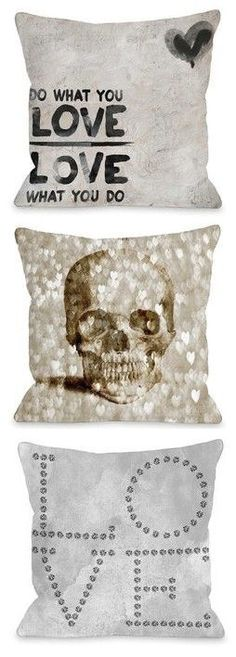 Love these Throw Pillows