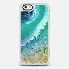 AMETHYST OCEAN BLUE by Monika Strigel - Classic Grip Case